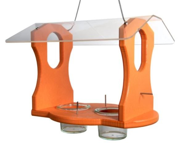 attracting orioles with feeders