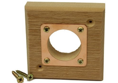 nest hole extension for birdhouses