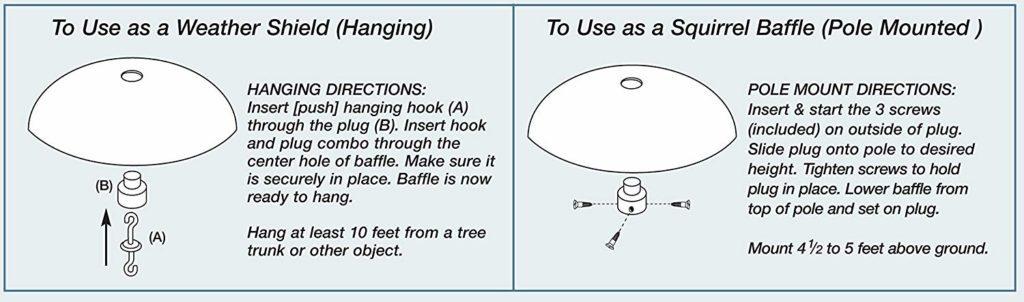 baffle instructions