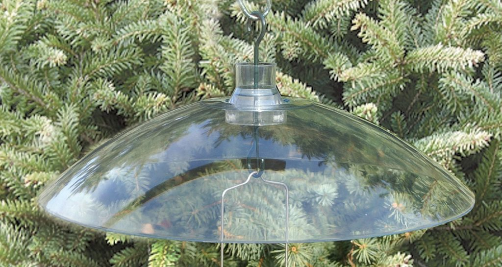 weather dome for bird feeders