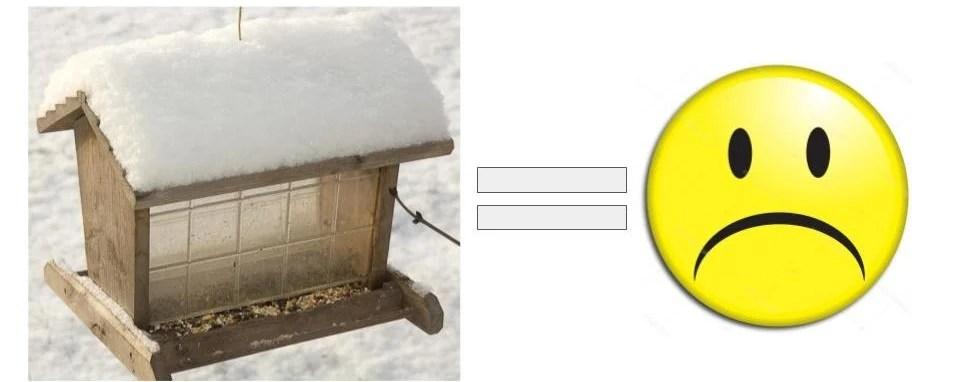 empty bird feeders make people sad