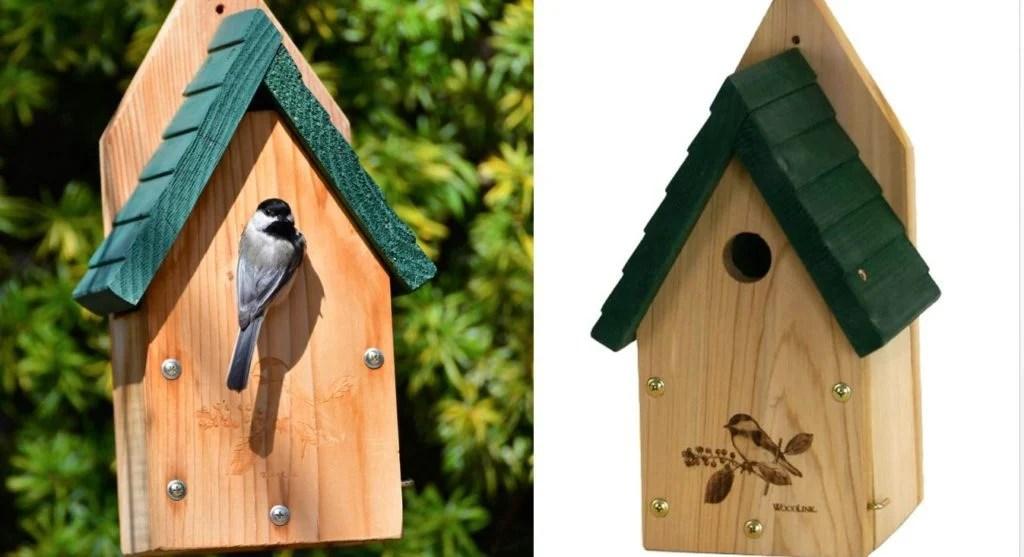chickadee bird houses