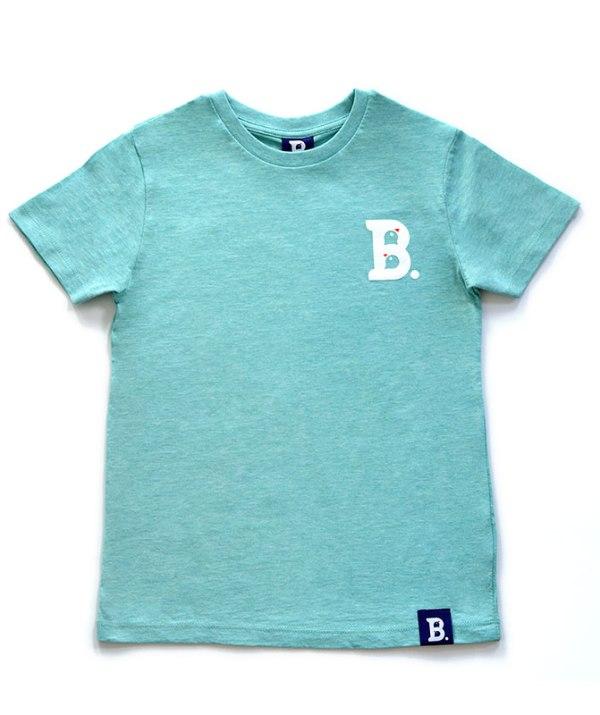 T-Shirt Birdz Vert Chiné - Enfant