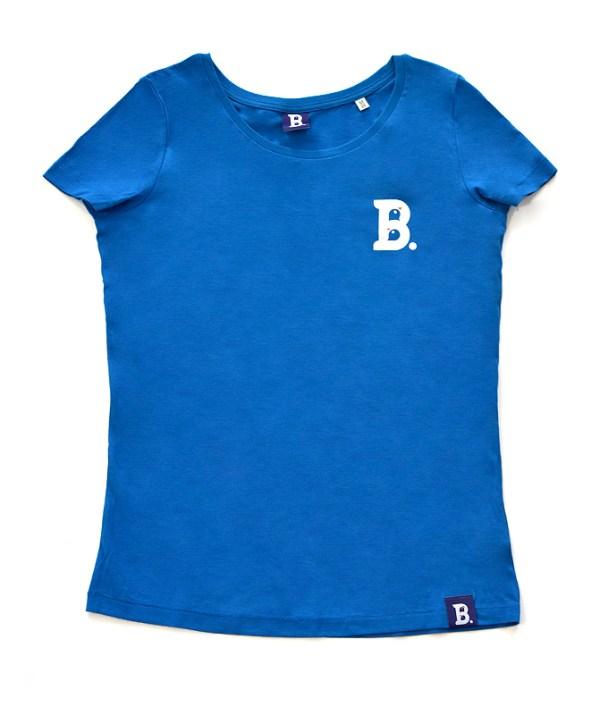 T-Shirt Birdz Bleu Azur - Femme