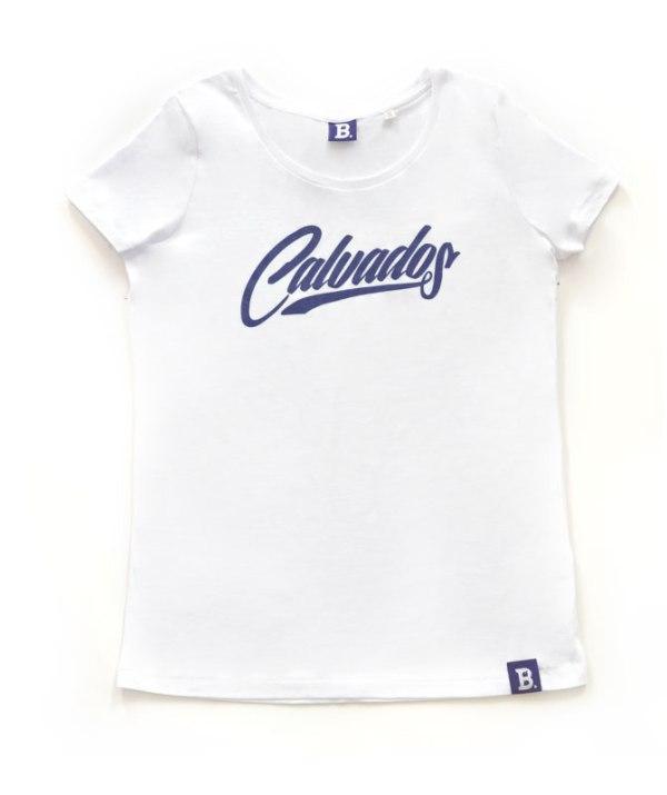 T-Shirt Calvados Blanc - Femme
