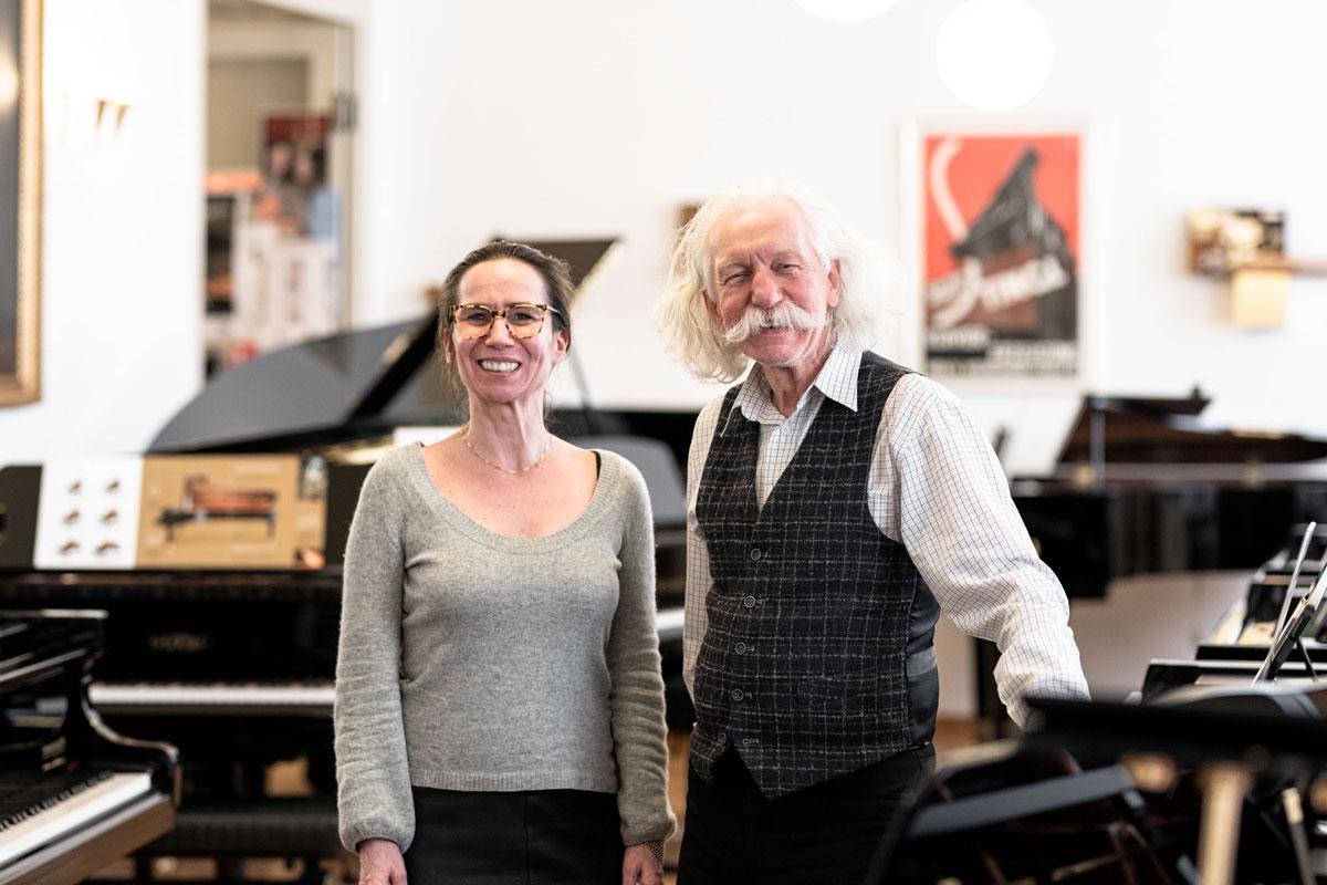 Birgit Grandl und Gustav Ignaz Sych