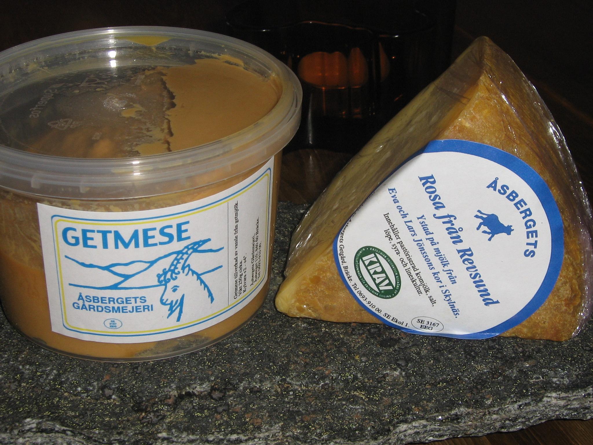 Goda ostar från Åsbergets Getgård