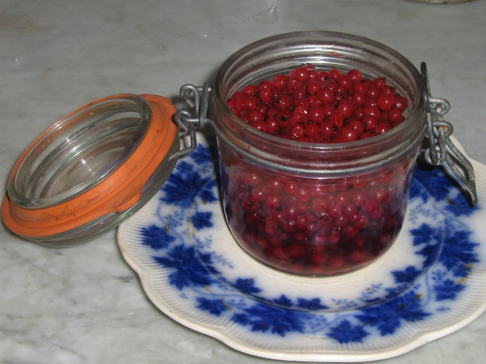 Rårörda Röda Vinbär