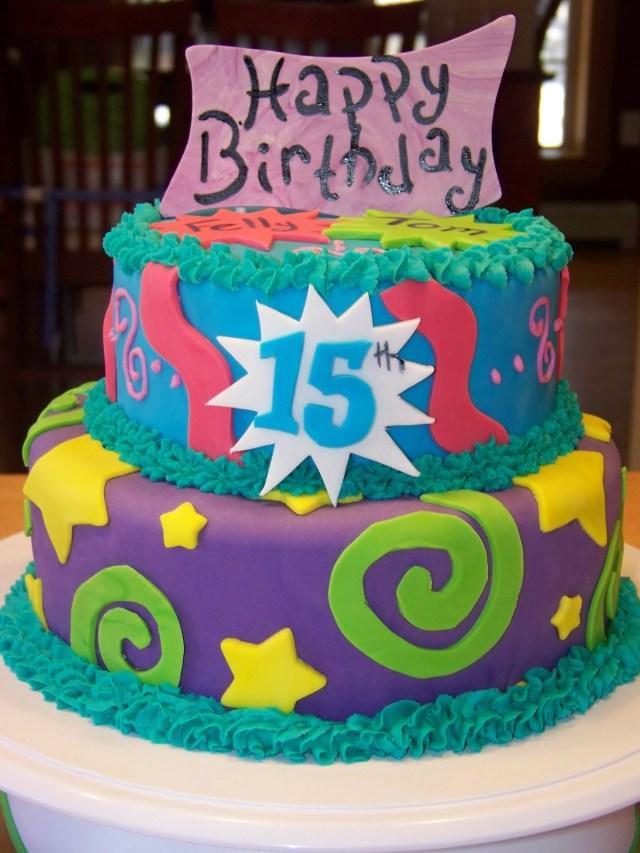 15 Birthday Cake 11 Happy Fifteenth Birthday Cakes Photo Happy 15th Birthday Cake