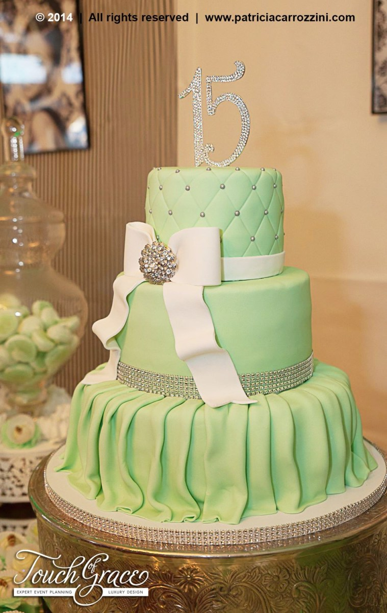 Awesome 15 Birthday Cake Tiffany Theme Sweet 15 Candy Buffet Mint Green Personalised Birthday Cards Paralily Jamesorg