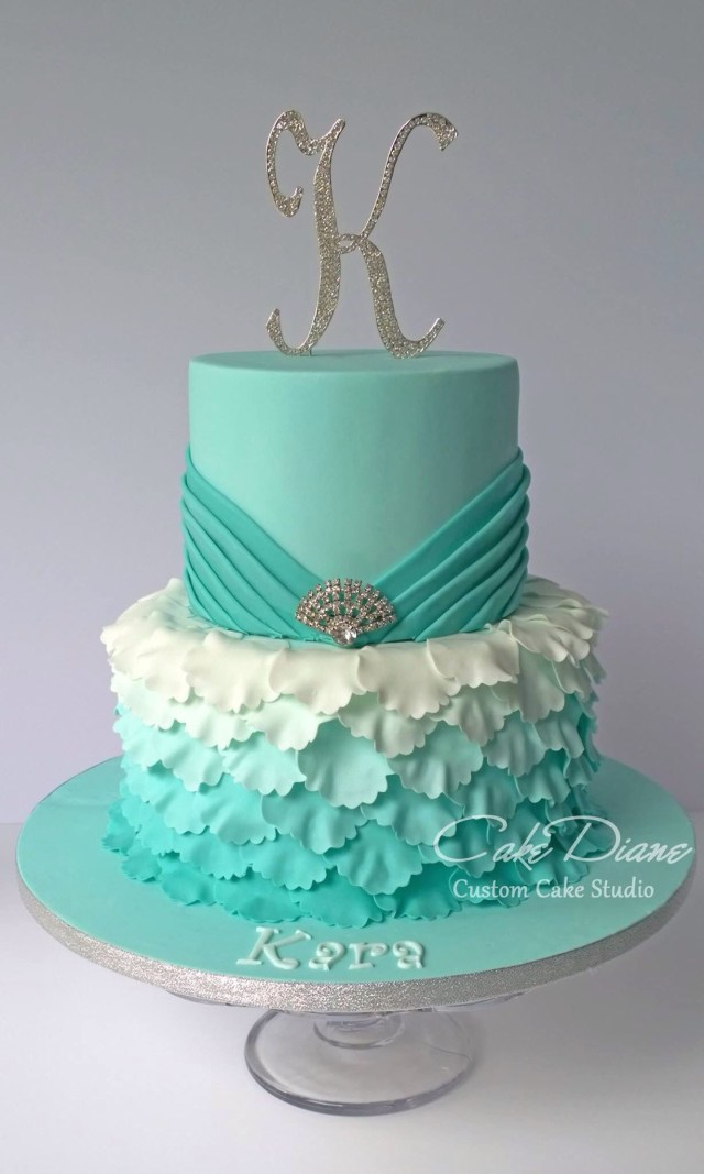 15 Birthday Cakes Jade Petal Cake Ideas Pinterest Sweet 16