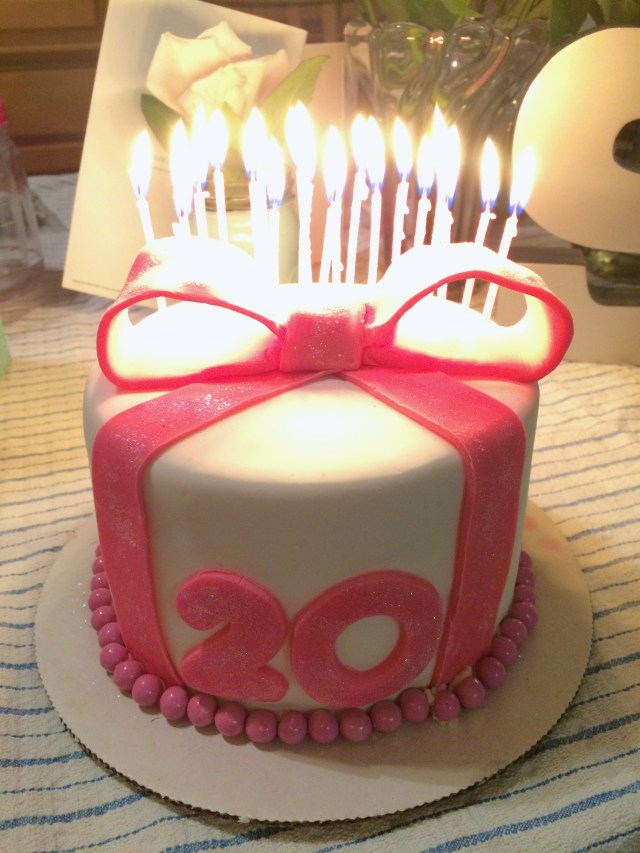20Th Birthday Cake Ideas 8 Happy 20th Cakes For Males Photo
