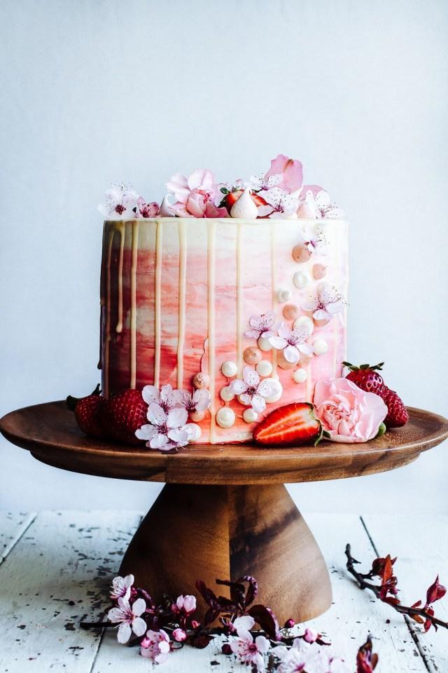 21 Birthday Cakes For Her 24 Homemade Birthday Cake Ideas Easy Recipes For Birthday Cakes
