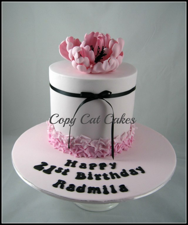 21 Birthday Cakes For Her Birthday Cakes For Her Pretty 21st Birthday Cake Colorful Fun