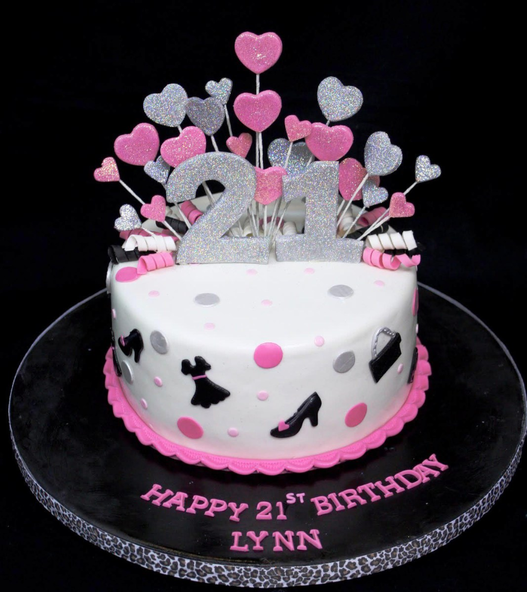 Admirable 21St Birthday Cakes For Her 21St Birthday Cake Decorating Ideas Personalised Birthday Cards Paralily Jamesorg