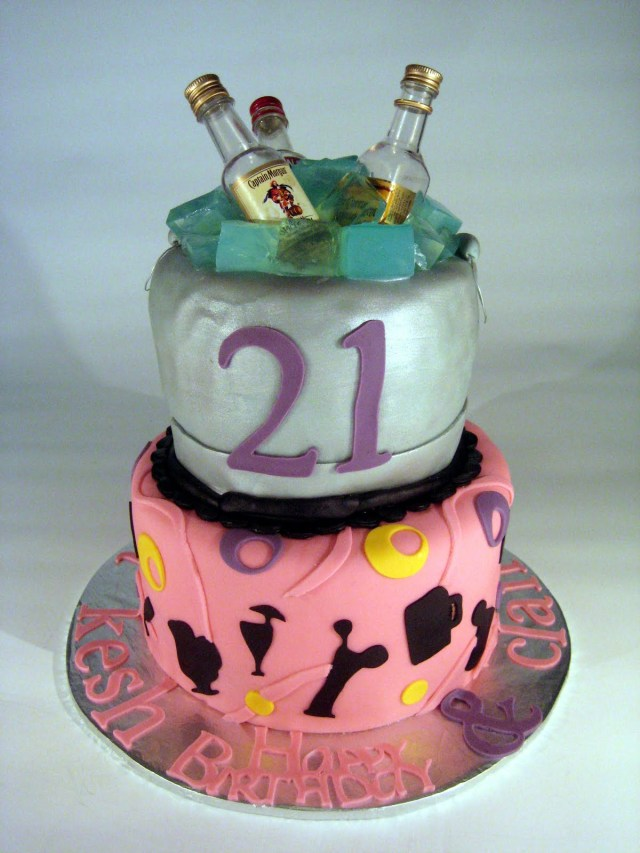 21St Birthday Cakes For Her 21st Birthday Cakes Decoration Ideas Little Birthday Cakes
