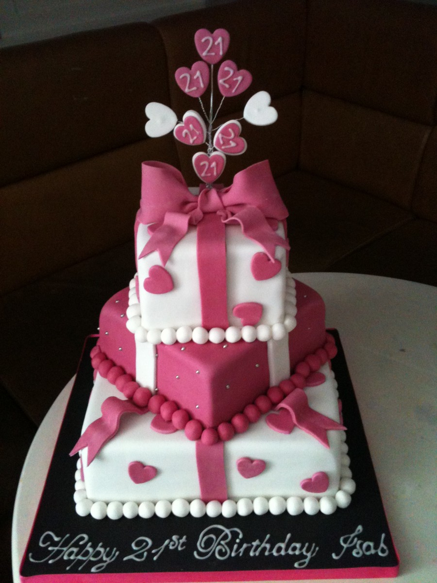21St Birthday Cakes For Him Her Fantastic 21 21st Cake Designs Ideas