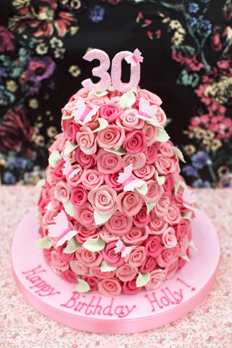 Tremendous 30Th Birthday Cake For Him Pictures Of 30Th Birthday Cakes Funny Birthday Cards Online Drosicarndamsfinfo