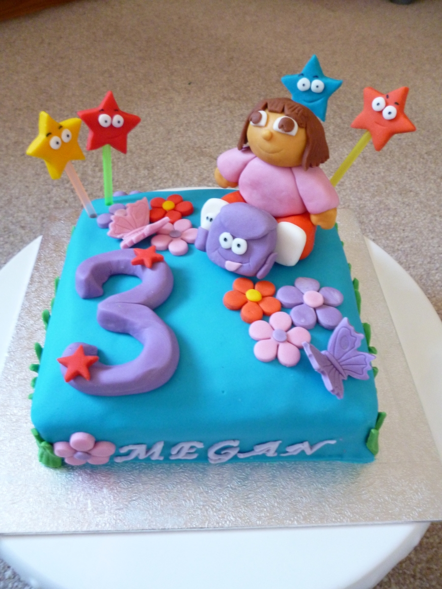 Pleasing 3Rd Birthday Cake 3Rd Birthday Cake Abc Birthday Cakes Birijus Com Funny Birthday Cards Online Overcheapnameinfo