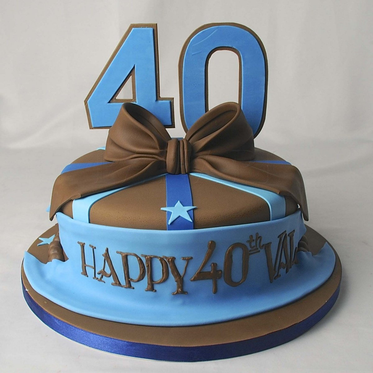 Pleasing 40Th Birthday Cake Ideas For Him 11 40Th Birthday Cakes For Guys Funny Birthday Cards Online Overcheapnameinfo