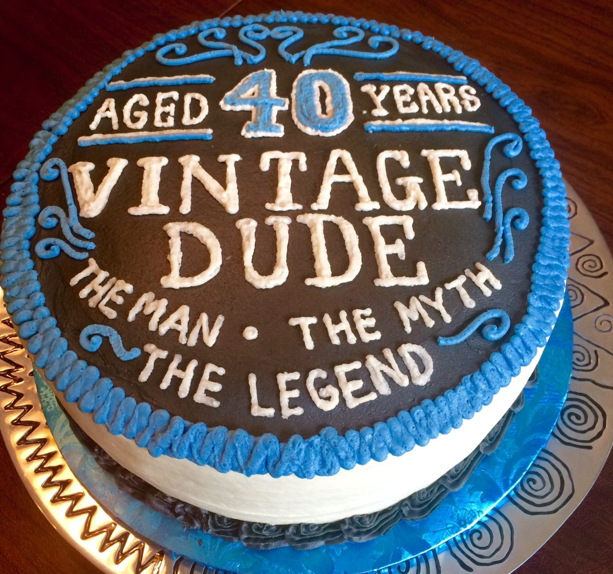 30+ Marvelous Picture of 40Th Birthday Cake Ideas For Him