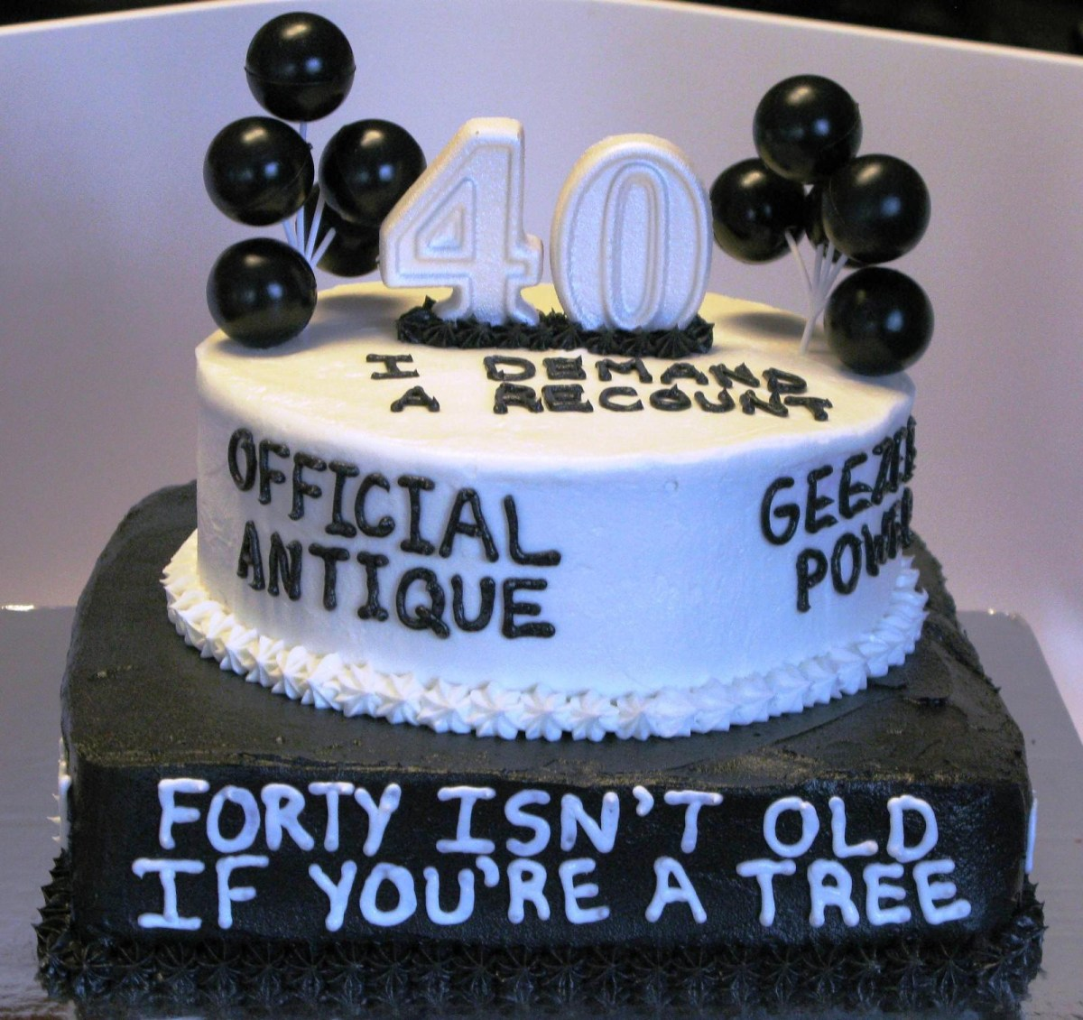 Groovy 40Th Birthday Cakes 40Th Birthday Cake Ideas Funny Protoblogr Funny Birthday Cards Online Inifofree Goldxyz