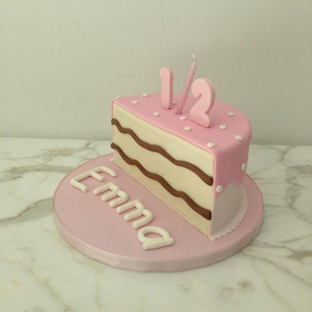 6 Month Birthday Cake Pink Half Birthday Cake 12 6 Months Ba Half Cake Pattycakes