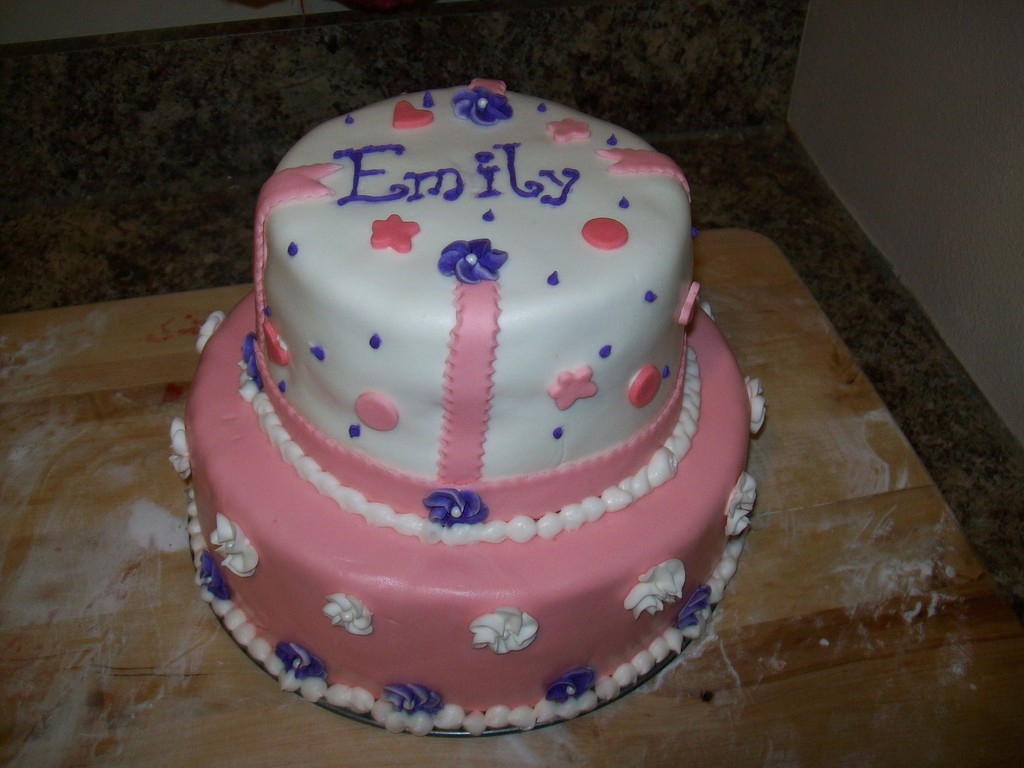 Excellent 7 Year Old Birthday Cake Birthday Cake For A 7 Year Old Girl Funny Birthday Cards Online Hetedamsfinfo