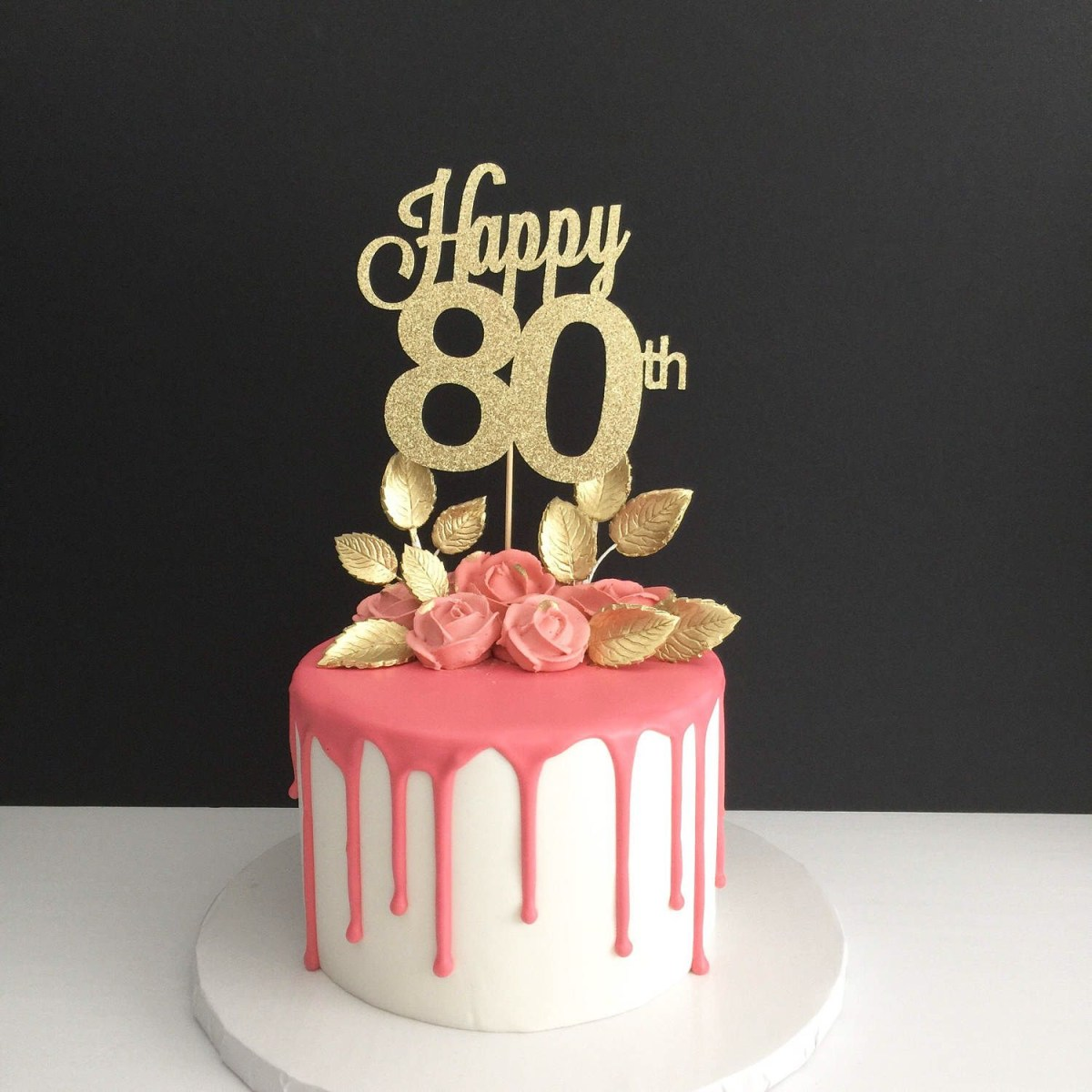 30+ Awesome Image of 80Th Birthday Cakes