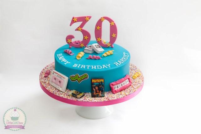90S Birthday Cake 90s Birthday Cakes