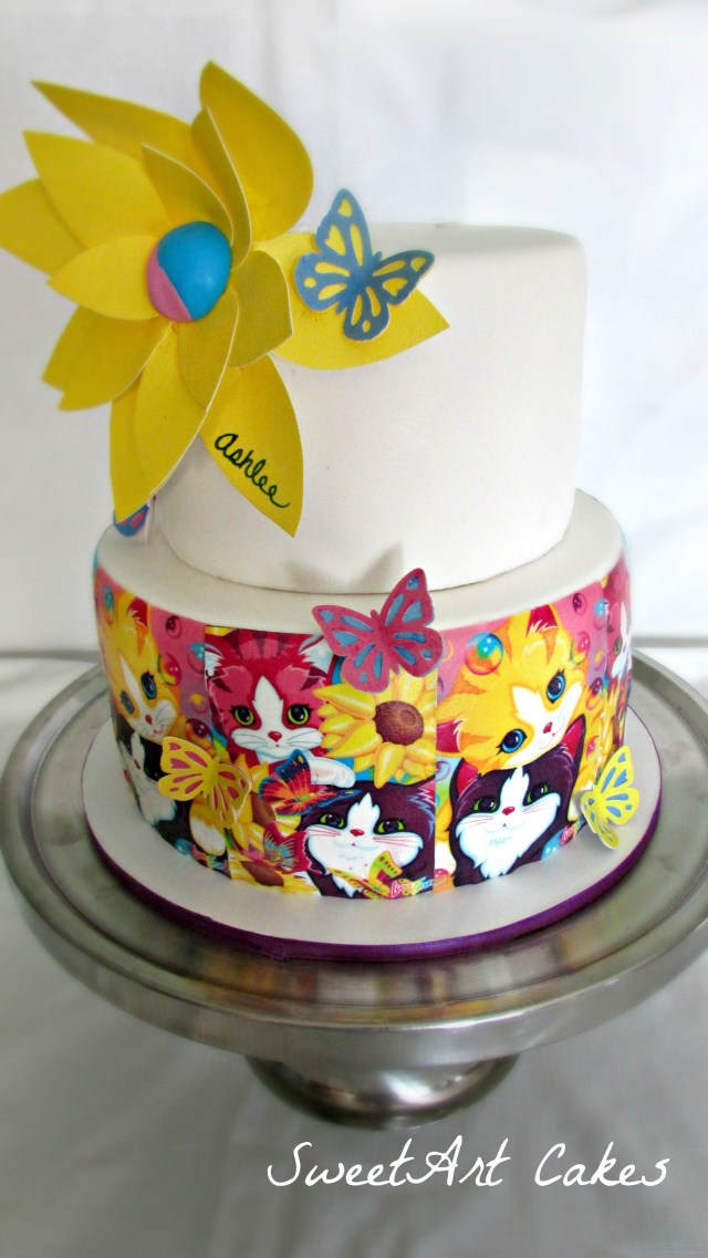 90S Birthday Cake Lisa Frank Birthday Cake Lisa Frank Pinterest Birthday