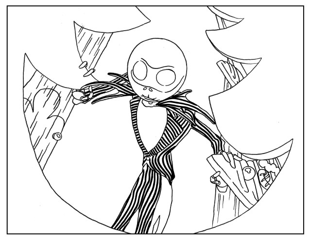 Adult Coloring Book Pages 8 Tim Burton Adult Coloring Book Pages Printables Halloween