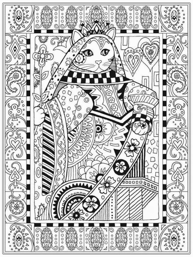 Adult Free Coloring Pages Cat Coloring Pictures Fors Pages Halloween Colouring Pdf Impressive