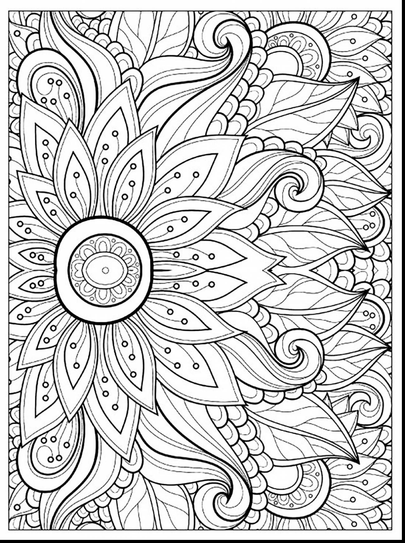 Adult Free Coloring Pages Flower Coloring Pages For Adults Unique Flower  Coloring Pages Adults - birijus.com
