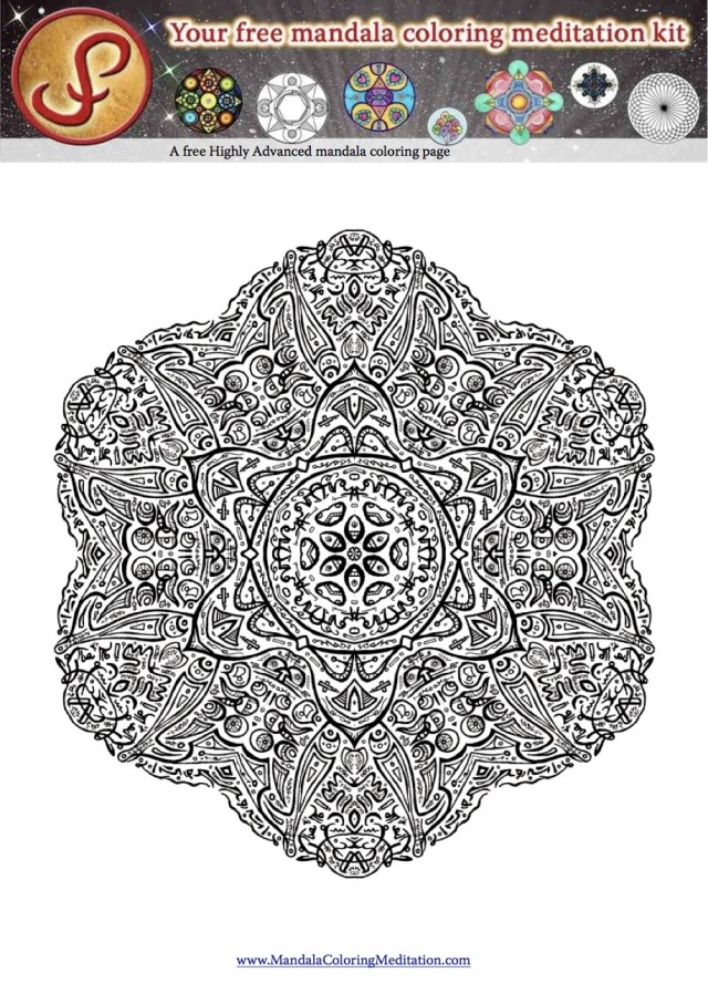 Advanced Mandala Coloring Pages Coloring Pages Archives Are You Ready To Start Your Mandala