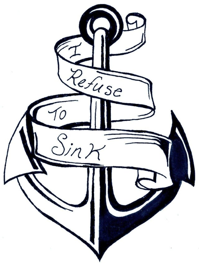 Anchor Coloring Page Anchor Coloring Page Coloring Home