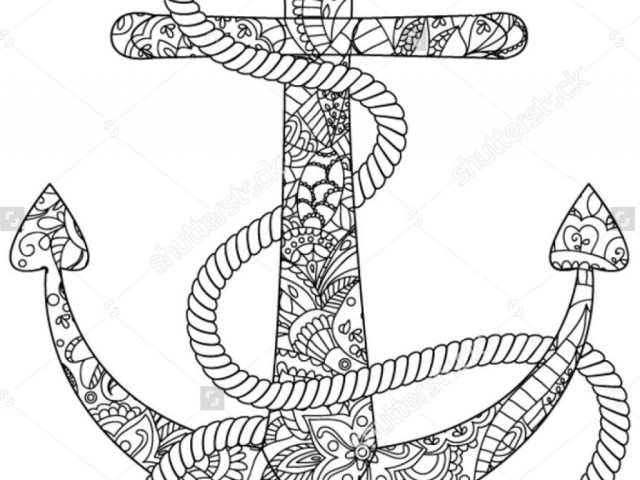 Anchor Coloring Page Anchor Coloring Page Coloring Pages