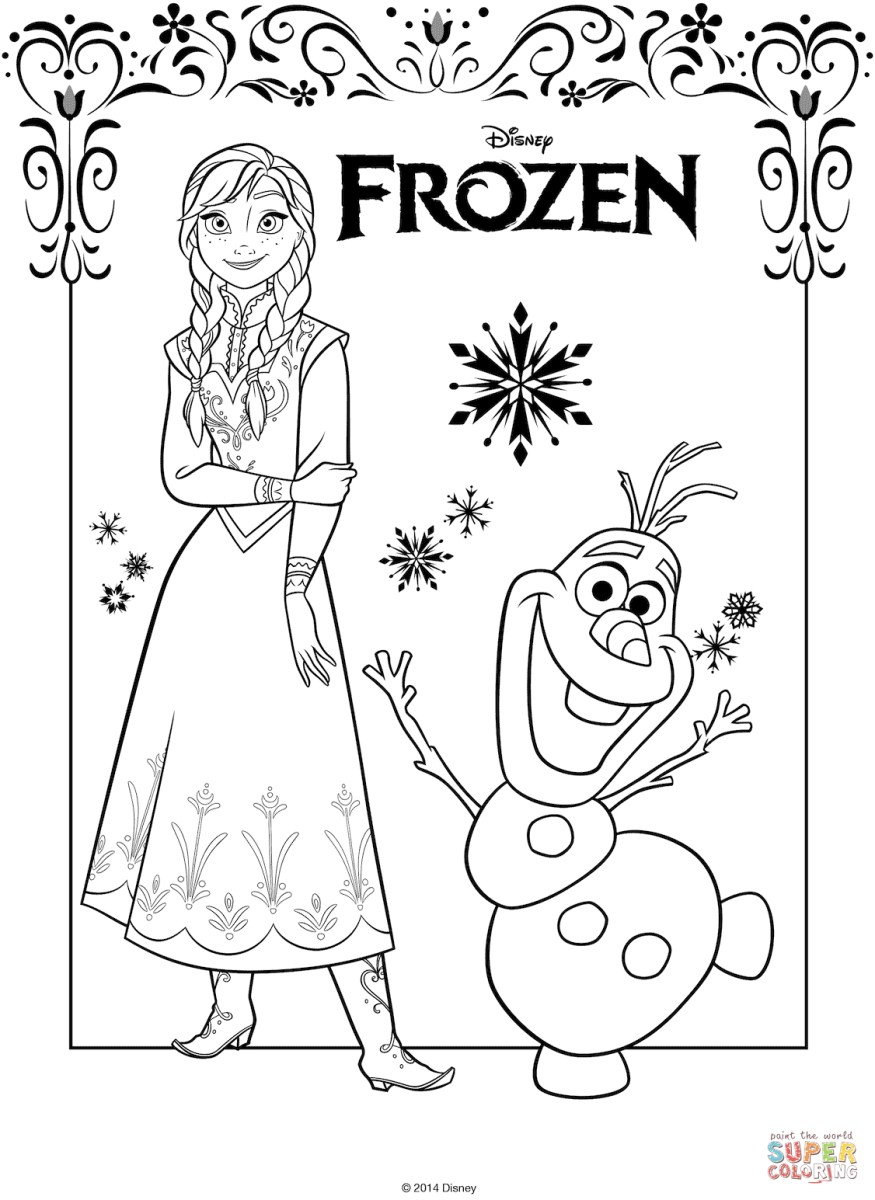 Anna And Elsa Coloring Pages The Frozen Coloring Pages Free Coloring Pages Birijus Com