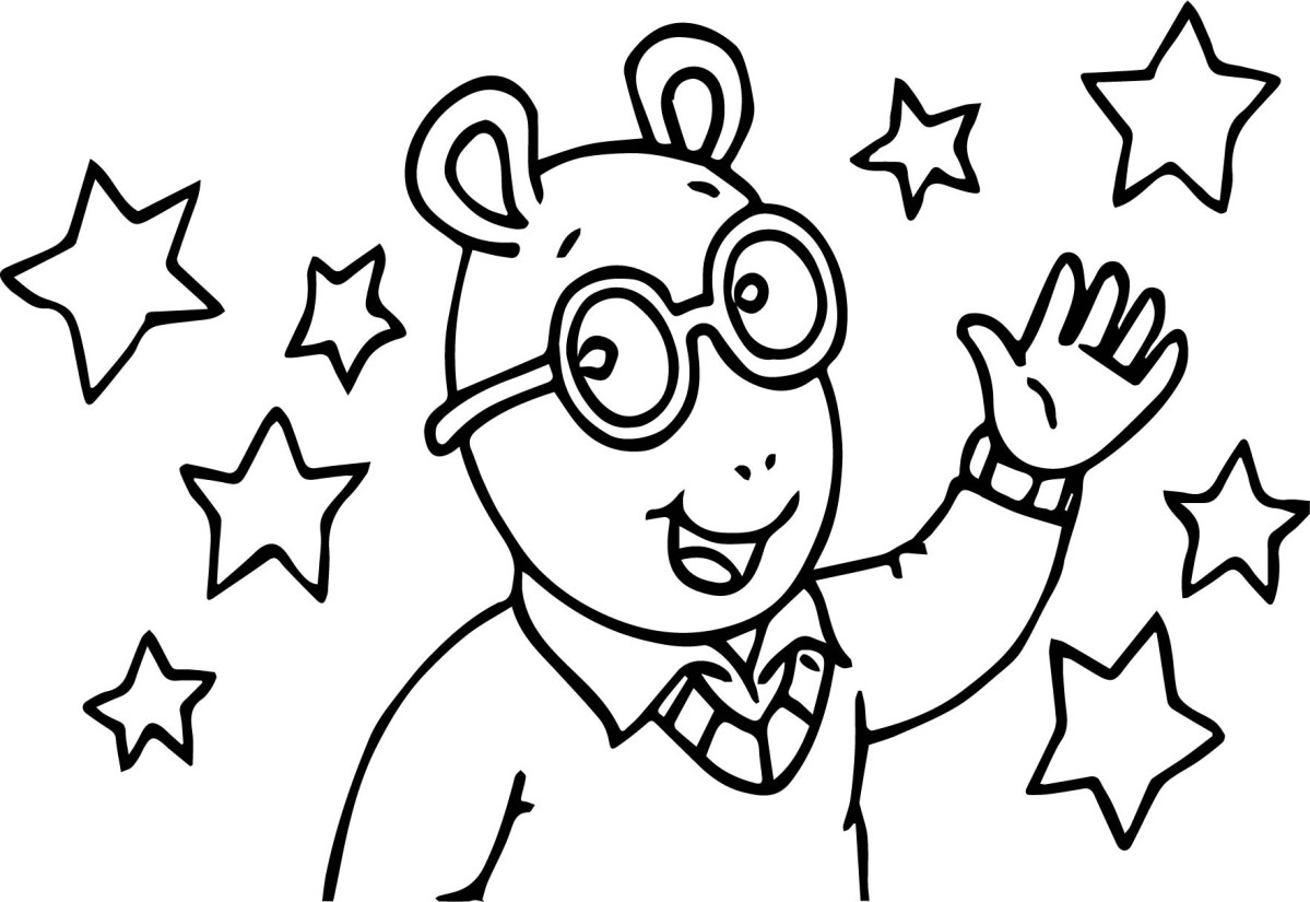 Arthur Coloring Pages Arthur Pbs Facebook Coloring Page