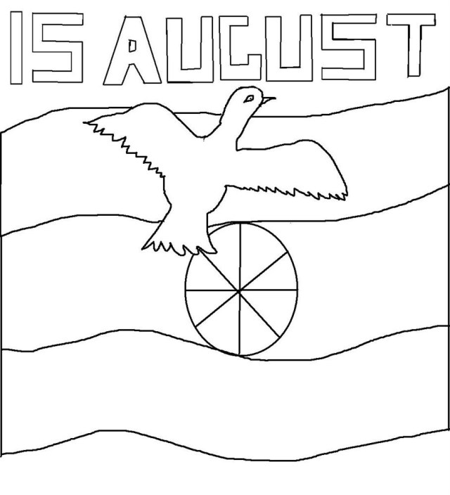 August Coloring Pages Coloring Pages August Colorings To Download And Print For Free