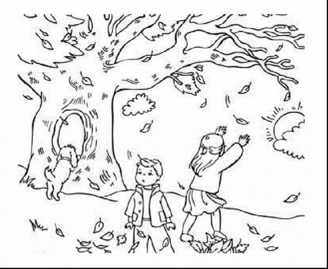 Autumn Coloring Pages Fall Autumn Coloring Pages For Kids Leaf Awesome Engaging 1024841