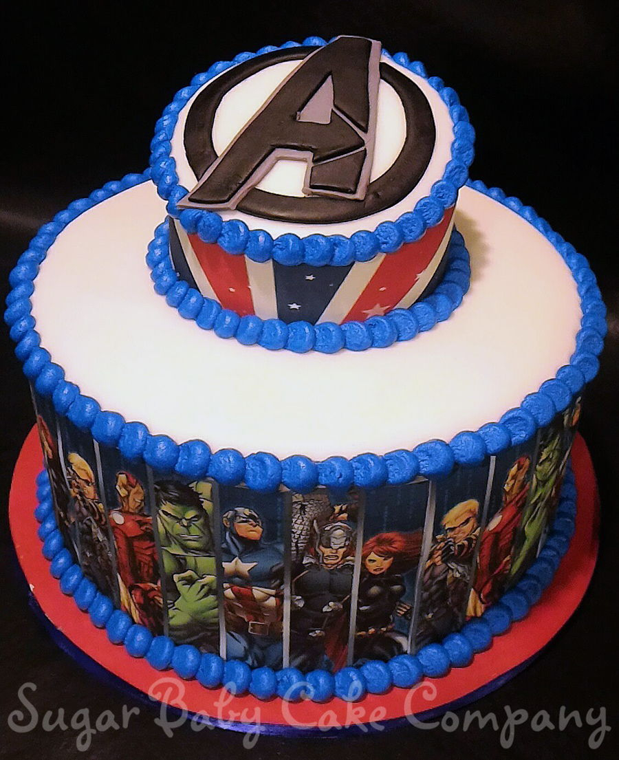 Awesome Avengers Birthday Cake Avengers Birthday Cake Cakecentral Funny Birthday Cards Online Alyptdamsfinfo