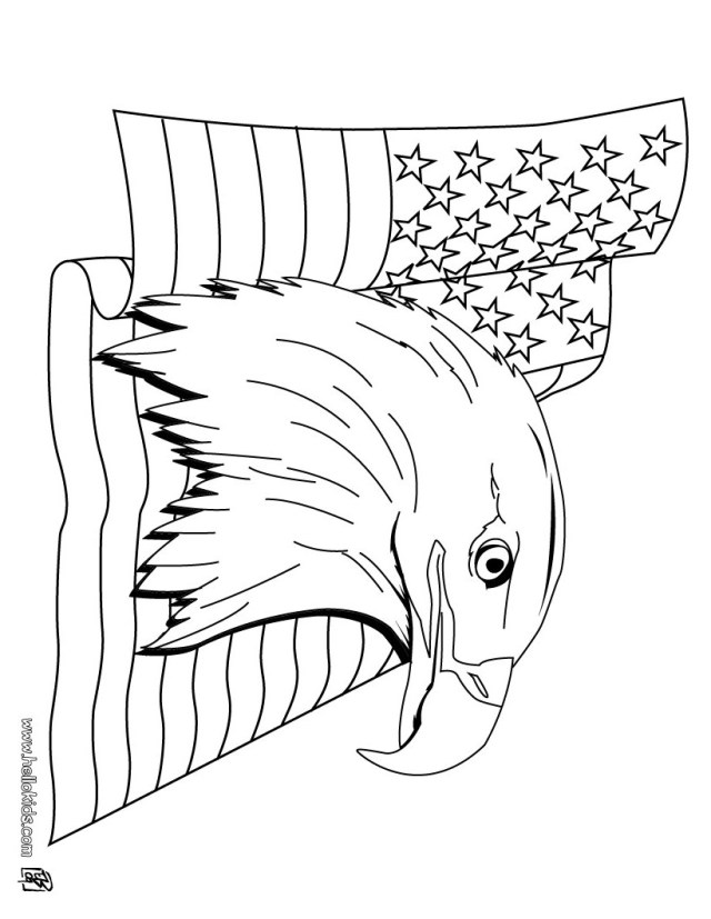 Bald Eagle Coloring Page Bald Eagle Coloring Page Free Pages Attractive Printable Pinterest