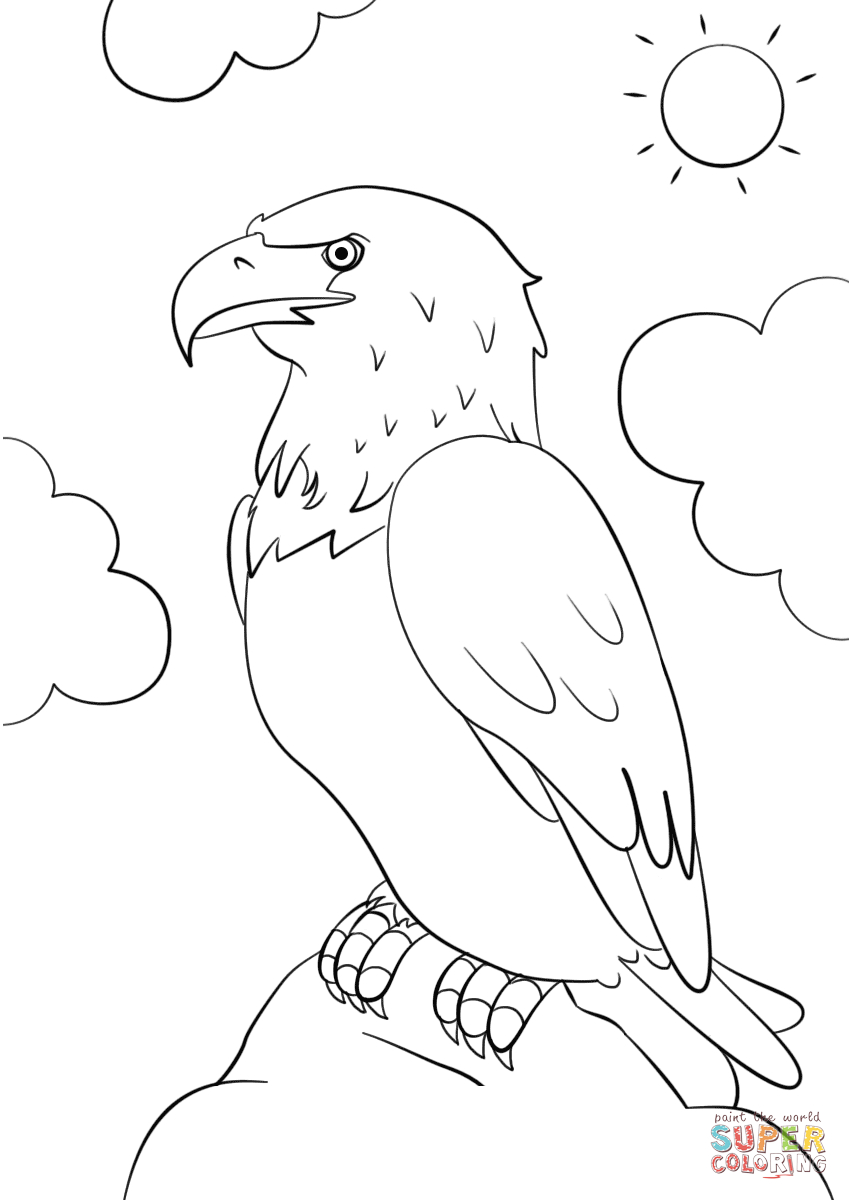- 23+ Great Picture Of Bald Eagle Coloring Page - Birijus.com