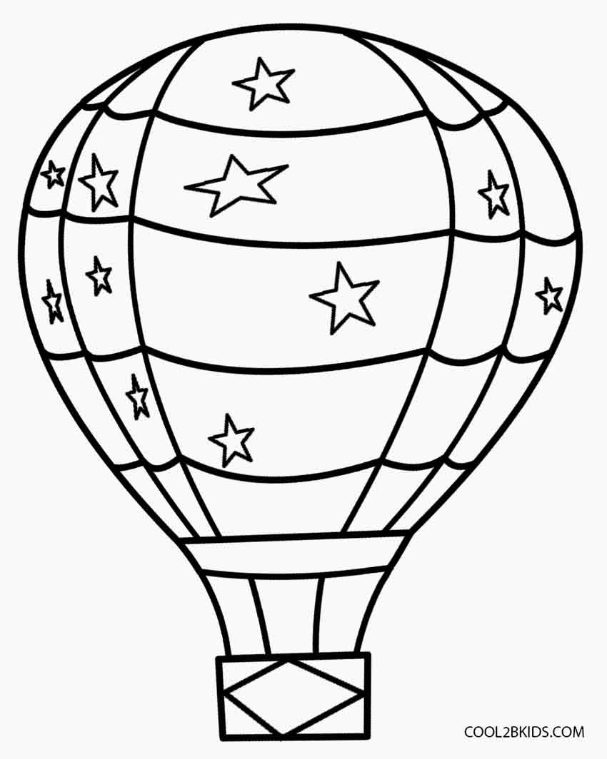 Spiderman and Iron Man Hot Air Balloons Coloring Pages | Coloring ... | 1064x850
