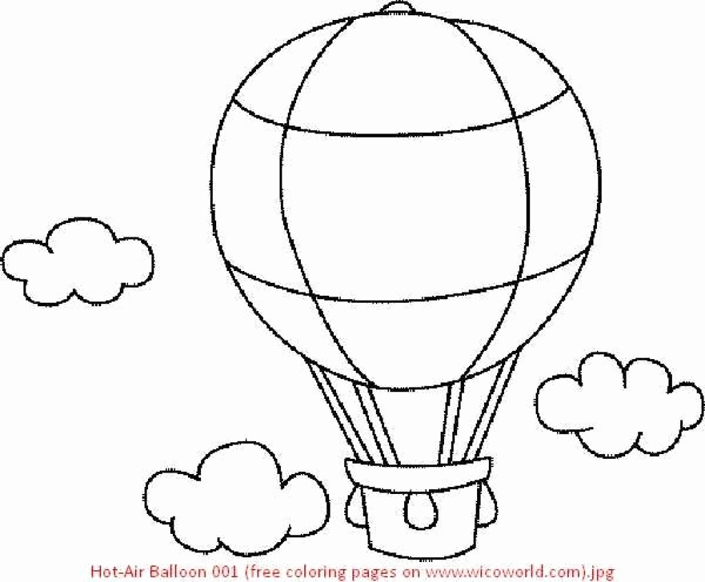Hot air balloon #19 (Transportation) – Printable coloring pages | 846x1024