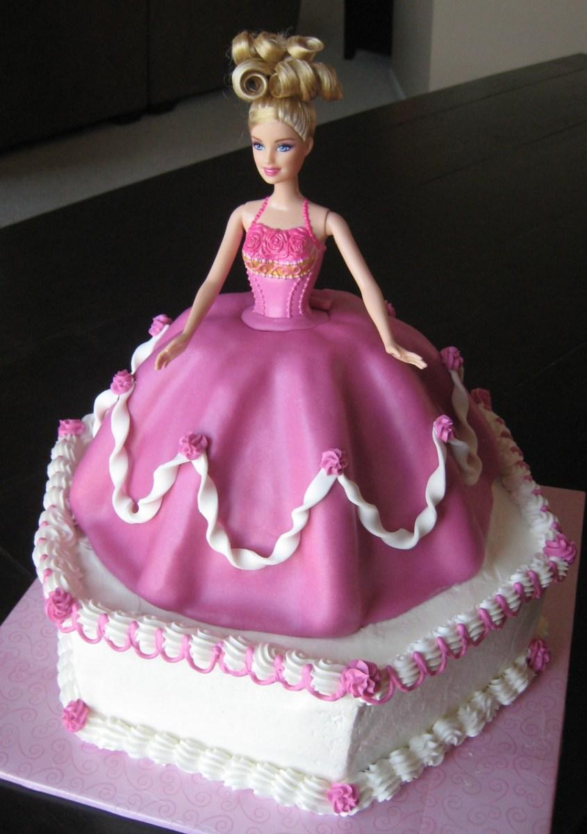Fabulous Barbie Birthday Cake Barbie Birthday Cake Cakecentral Birijus Com Funny Birthday Cards Online Alyptdamsfinfo