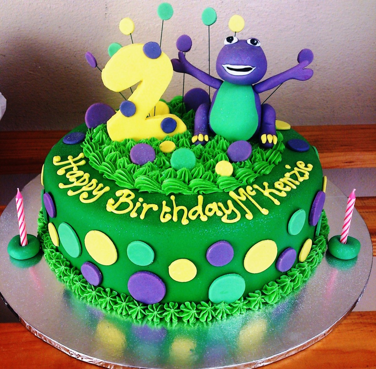 Miraculous Barney Birthday Cake 13 Barney Cakes For Boys Photo Barney Personalised Birthday Cards Cominlily Jamesorg