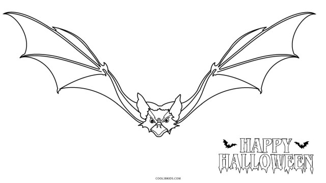 Bat Coloring Pages Free Printable Bat Coloring Pages For Kids Cool2bkids