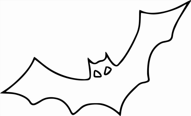 Bat Coloring Pages Halloween Bat Coloring Pages Nosca